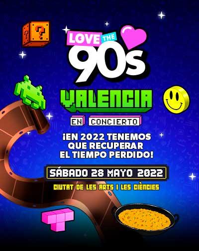 Entradas Love the 90's en Valencia