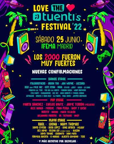 Entradas Love The Twentis 2022 Madrid